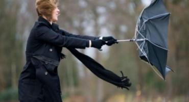 Upozorenje zbog jakih udara vjetra tijekom noći