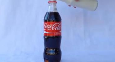 Novi trend: Biste li popili Coca-Colu s mlijekom?