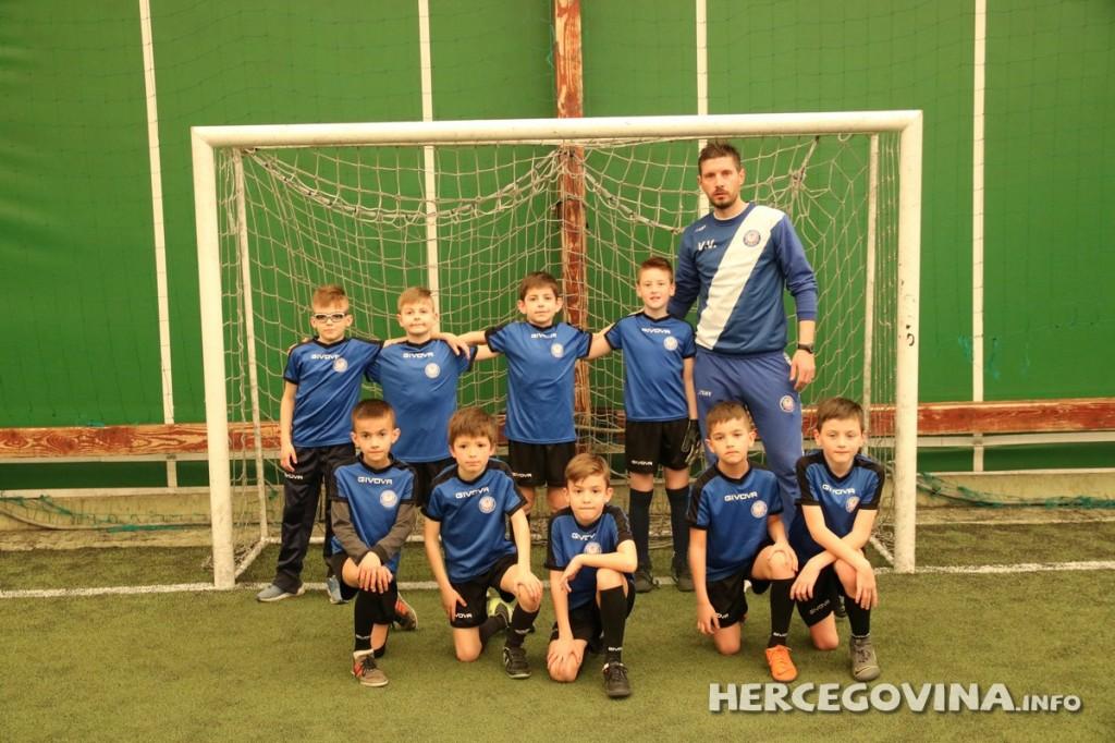 Najmlađi članovi FA HFC Zrinjski zabilježili još jednu visoku pobjedu