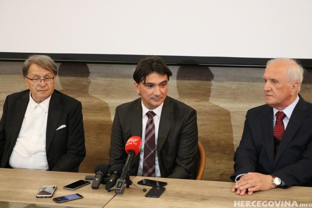 Zlatko Daliću u Mostaru: Hvala vam što volite hrvatsku reprezentaciju
