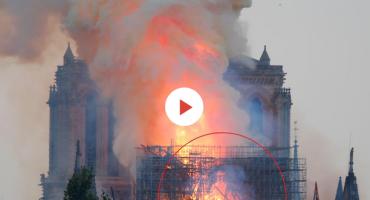 U požaru Notre Dame vidjela Isusa: 'Bila sam zapanjena'