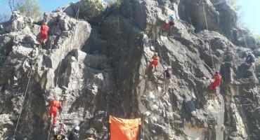 Završena vježba speleotehnika kod Mostara