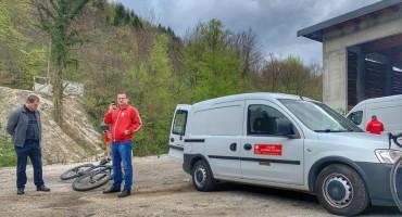Kiseljak dočekao biciklističku karavanu Mostar – Vukovar