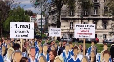 Za danas najavljen online prosvjed Sindikata radnika trgovine i uslužnih djelatnosti BiH