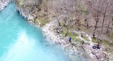 Izbjegnuta tragedija na rijeci Neretvi: Prevrnuli se tijekom raftinga