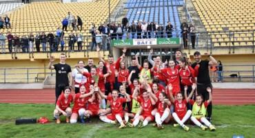 Nogometašice ŽNK Brotnjo osvojile naslov prvakinja