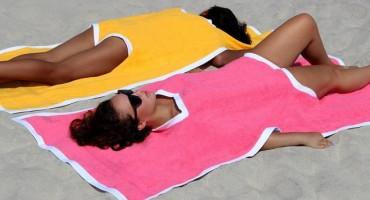 Pogledajte novi spoj kupaćeg kostima i ručnika