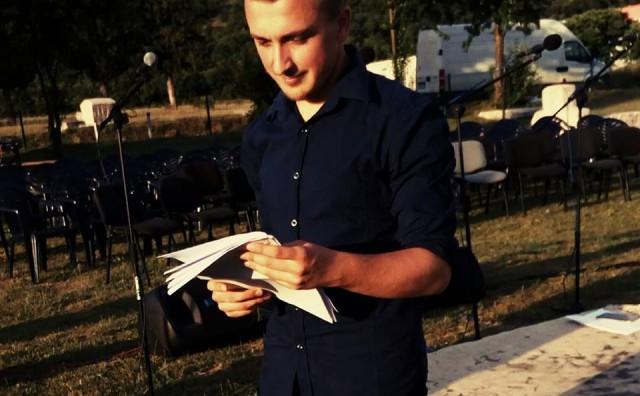 """Najava promocije zbirke pjesama """"Prostori sebe"""" Ivana Volića"""
