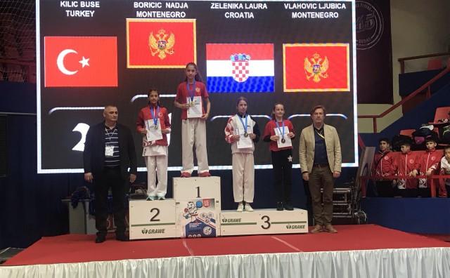 Laura Zelenika brončana na Balkanskom Prvenstvu u Banja Luci!!!