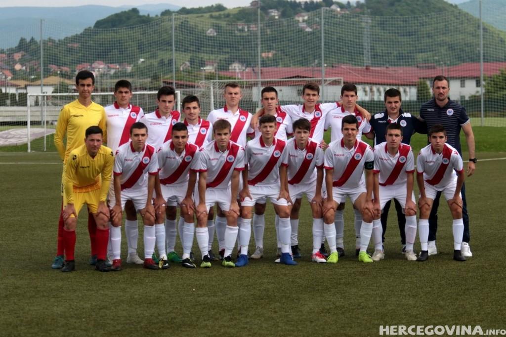 HŠK Zrinjski: Kadeti poraženi od FK Sarajevo