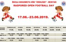 "Raspored za manifestaciju ""Open football day"""