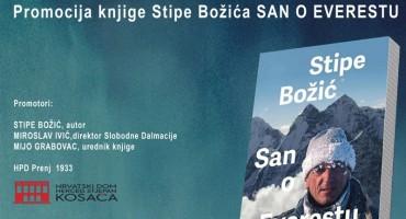 """Promocija knjige Stipe Božića """"San o Everestu"""""""