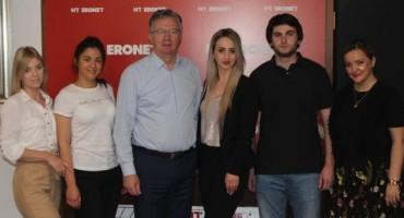 Uz završetak stručne prakse u HT ERONET-u: Studenti odnosa s javnošću s predsjednikom Primorcem