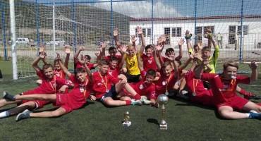 HNK Brotnjo iz Čitluka pobjednik međunarodnog turnira u Budvi