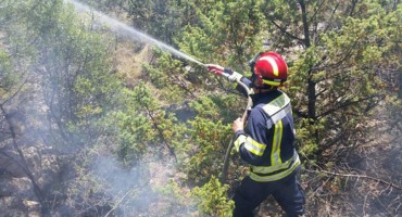 Kod vodopada Kravica gorjelo 50 tisuća četvornih metara
