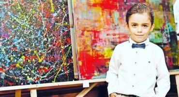 Ima samo 6 godina i veliki talent da postane novi Picasso