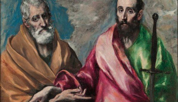 DVOJICA VELIKIH Danas slavimo Sv. Petra i Pavla