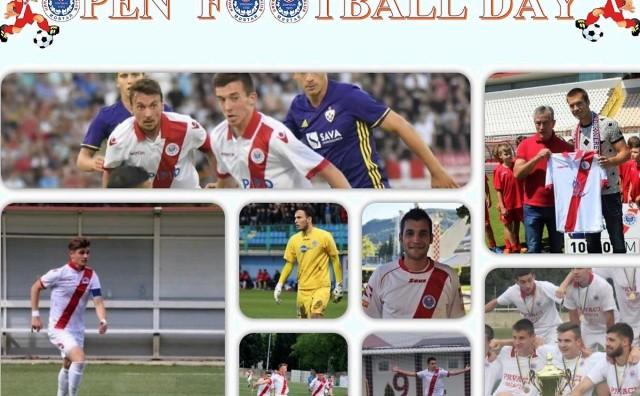 "Raspored za manifestaciju ""Open football day"""