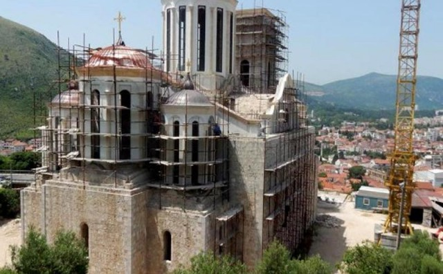 Sutra slava Saborne crkve Svete Trojice u Mostaru