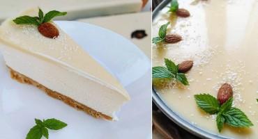 Cheesecake s mascarpone kremom i bijelom čokoladom!