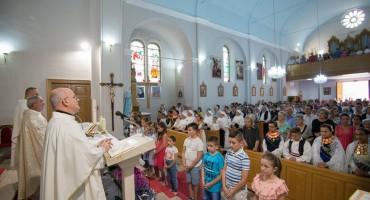 """Sveti Ilija u Stocu 2019. i blagoslov prije sv. Mise na """"Trgu sv. Ilije Proroka"""""""