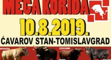 NAJAVA: Za sve ljubitelje borbe bikova – mega korida u Tomislavgradu