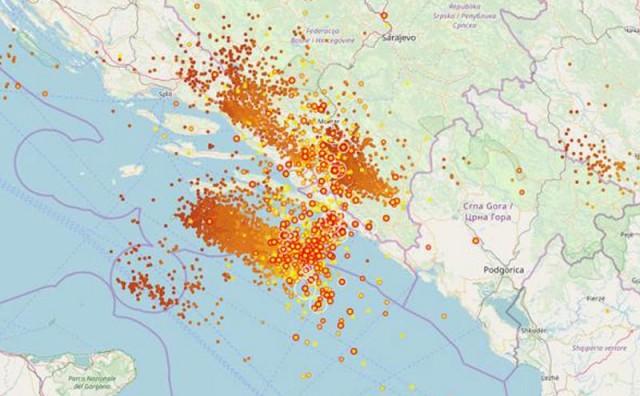 Sustav Blitzortung zabilježio više od 25 tisuća udara munja u Dalmaciji i Hercegovini