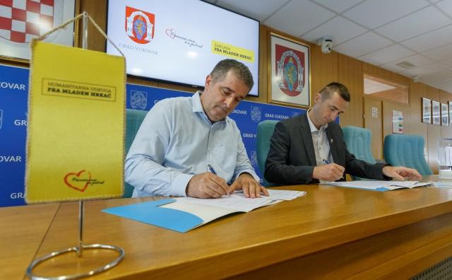 Grad Vukovar prvi službeno podržao izgradnju Doma fra Mladen Hrkać