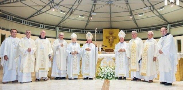 Petorica fratara Hercegovačke franjevačke provincije u Međugorju proslavili zlatne mise