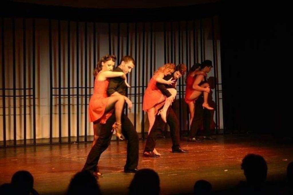 """Scena Tango iz njegove adaptacije broadwayskog mjuzikla """"Chicaga"""" pod nazivom"""