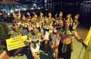 Mostarske mažoretkinje nastupile u Kotoru