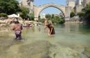 Paklene vrućine: U Mostaru u 14:30 sati izmjerena temperatura od čak 42 stupnja