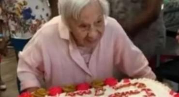 'Doživjela sam 107. rođendan zato što se nikad nisam udavala'