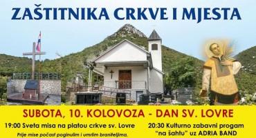 Proslava svetog Lovre u Orlacu