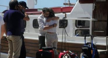 Preživjeli talijanski turisti s broda na Hvaru vratili se na mjesto tragedije