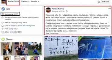 Pogledajte što je novinarka BHRT-a, inače sestra Adisa Pokvića pisala protiv Hrvata