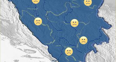Zbog pojačanog osjeta hladnoće biometeorološka prognoza loša