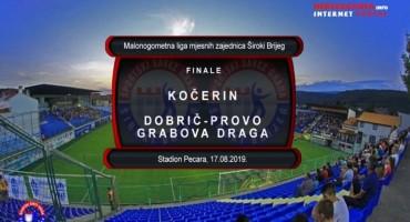 Prijenos finala Lige MZ Grada Širokog Brijega pratite na portalu hercegovina.info