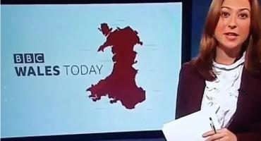 Uhvaćena nespremna: Snimka BBC-jeve voditeljice mnogima je najbolja stvar danas