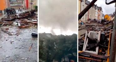 Tornado protutnjao Luksemburgom: Divlji vrtlog uništio kuće, prevrnuo automobile, šteta je golema