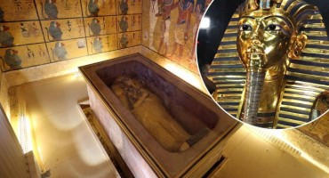 Egipat izložio Tutankamonov sarkofag