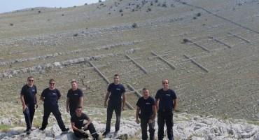 Mostarski vatrogasci odali počast poginulim kolegama na Kornatima