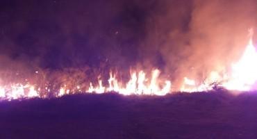 Veliki šumski požar kod Konjica