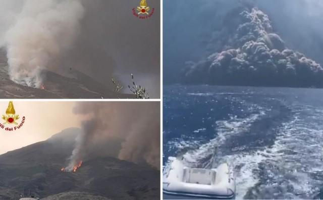 Eruptirao vulkan kod Sicilije: Turisti jedva spasili živu glavu