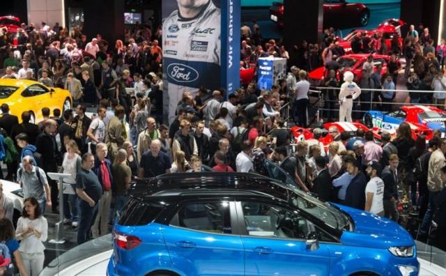 Pojačane mjere osiguranja auto salona u Frankfurtu zbog najavljenih prosvjeda klimatskih aktivista
