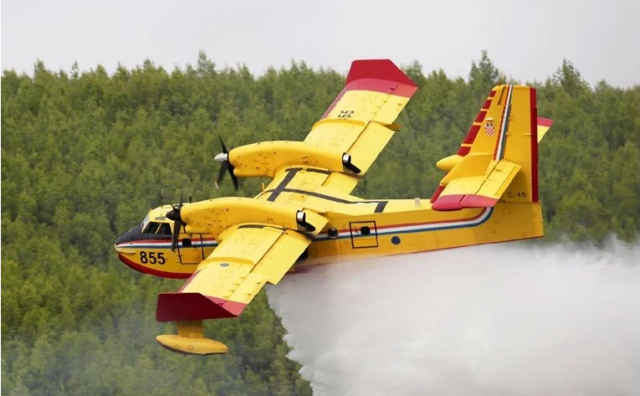 Lokaliziran požar kod Skradina, izgorjelo oko pet hektara borove šume