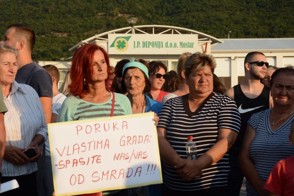 Prosvjed na Uborku: Građani najavljuju tužbe