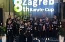 Odličan nastup u Zagrebu za Karate klub Brotnjo-Hercegovina