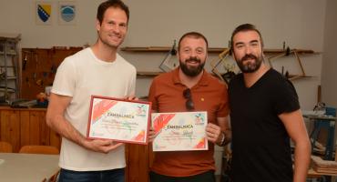 Asmir Begović posjetio djecu u centru Los Rosales, planira izgraditi sportski kompleks u Mostaru