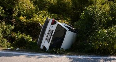 M-17: Teška prometna nesreća u Drežnici